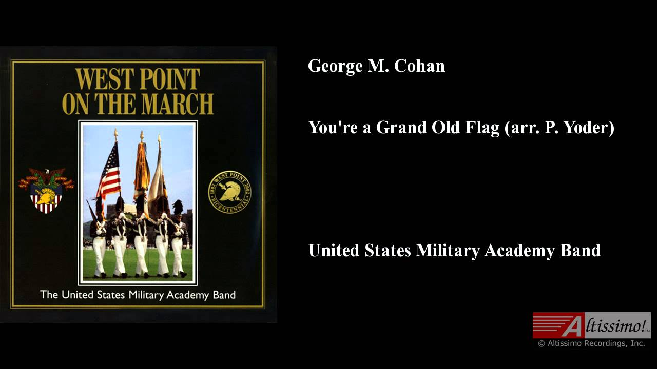 You'Re A Grand Old Flag Cohan 32