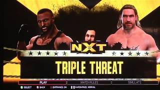 WWE 2K17: My WWE Universe: Ep 5 - Shortest Triple Threat Ever