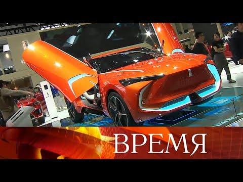 В Пекине начал работу пекинский автосалон Beijing Motor Show 2018.