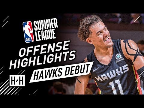 Trae Young CRAZY Full Offense Highlights at 2018 NBA Summer League - Atlanta Hawks Debut!