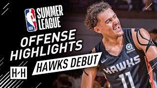 Trae Young CRAZY Full Offense Highlights at 2018 NBA Summer League - Atlanta Hawks Debut!