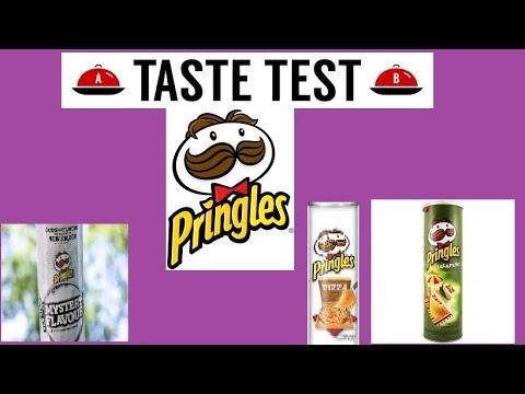 Pringles Taste test.
