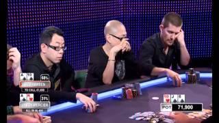 Aussie Millions 2012 cash game E01 (с комментариями на русском)