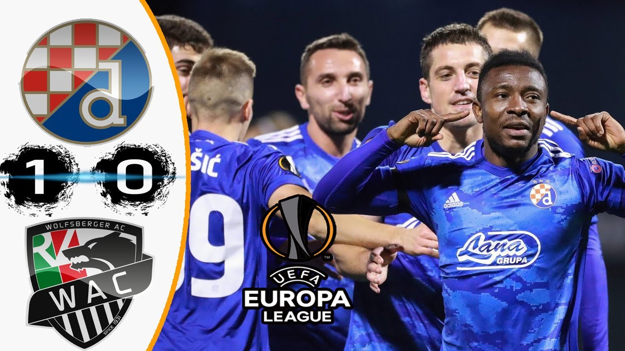 Dinamo Zagreb Vs Wolfsberger Ac 1 0 Europa League Group K Result All Goal 2020 2021 Nov Youtube