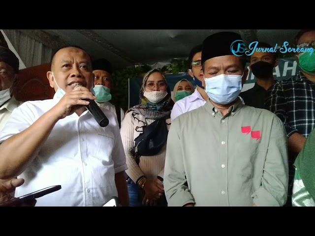Unggul Sementara di Quick Count LSI Denny JA dan Real Count KPU, Dadang Supriatna Sujud Syukur