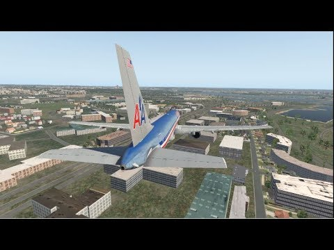9/11 - The Pentagon Strike - American Airlines Flight 77 - XP11