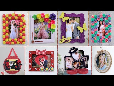 Easy Photo Frame Ideas... Step by step