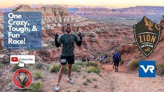 Zion Ultra Marathon 50K//Vacation Races vlog2020