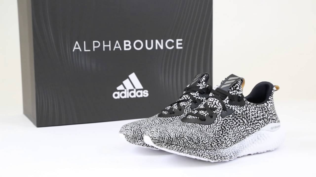 hot sale online 46a90 5984f Unboxing the Adidas AlphaBounce - YouTube