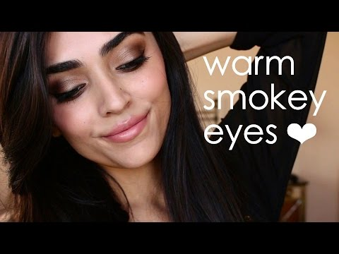 Warm Smokey Eyes   Ft. Wet N' Wild Comfort Zone Palette ❤