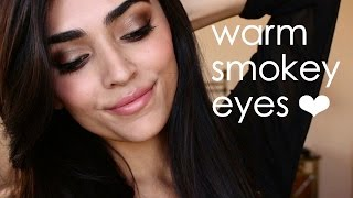 Warm Smokey Eyes | Ft. Wet n