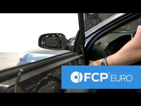 Volvo S60 Door Mirror Disassembly and Replacement – (S60, S80, V70, XC70)