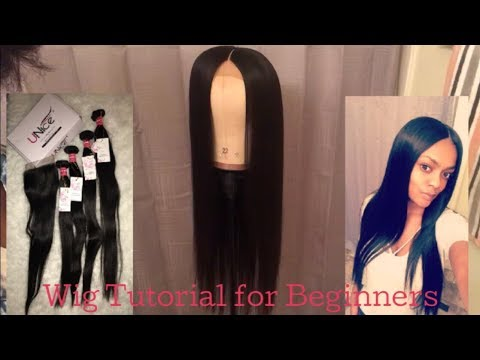 How To Make A Wig With a Closure | Beginner Friendly | UNICE Hair Co