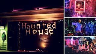 GARAGE HAUNTED HOUSE - HALLOWEEN 2018