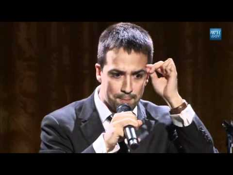 bww tv lin manuel miranda performs at the white house poetry jam youtube. Black Bedroom Furniture Sets. Home Design Ideas