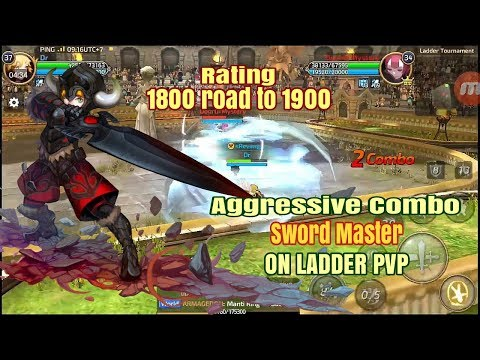 Aggressive Sword Master! (Dr, S22) Rating 1800 road to 1900 - Dragon Nest M SEA