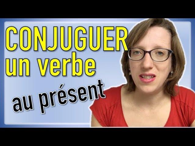 Comment Conjuguer Un Verbe Au Present En Allemand Youtube