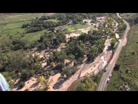 Aerial Footage 10/2/13 - 3 Weeks After Flooding