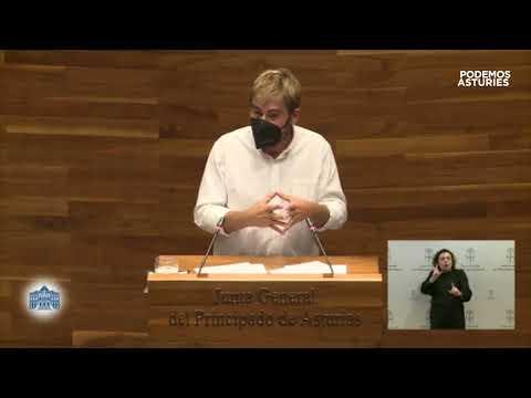 Intervención de Daniel Ripa en la sesión institucional con motivo del Día de Asturies 2021