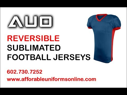 REVERSIBLE SUBLIMATED FOOTBALL JERSEYS