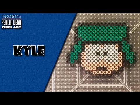 South Park Perler Bead Kyle