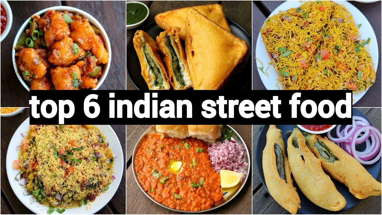 Top 6 Instant Indian Street Food Recipes 6 चटपट चट रसप Indian Chaat Recipes Collection