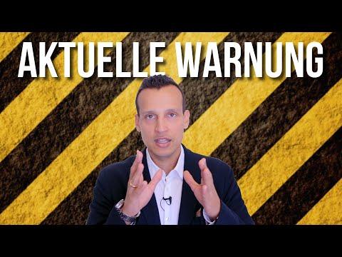 Aktuelle Warnung!