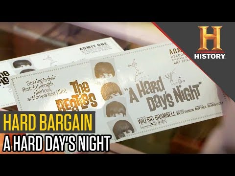 Bartering For The Beatles Movie Tickets | Pawn Stars