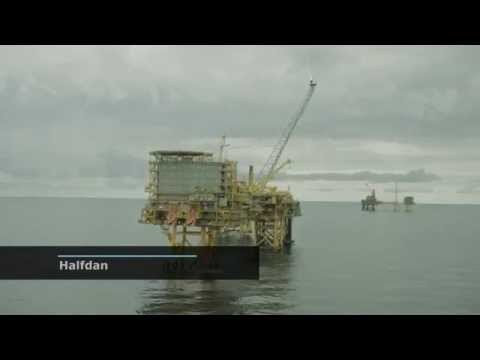 Halfdan - The Maersk Oil Field with the Newest Platforms