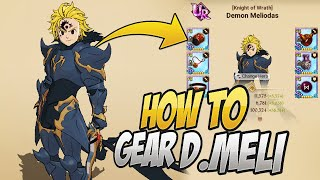 HOW TO GEAR BLUE DEMON MELIODAS! And Why! Seven Deadly Sins Grand Cross