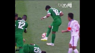 Saudi arabia player make some skills while his team mate get injured ● Salem Al-Dawsari ● Funny 2017 Video