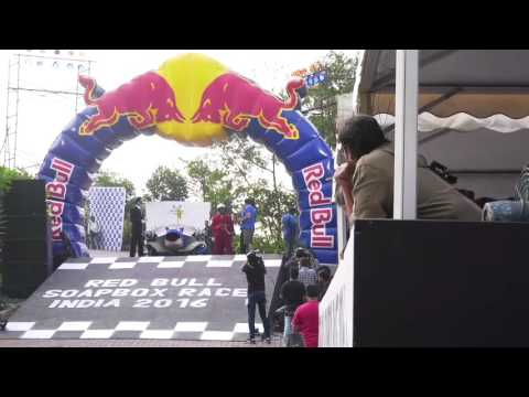 John Abraham & Other Celebs At Red Bull Soapbox Race India 2016