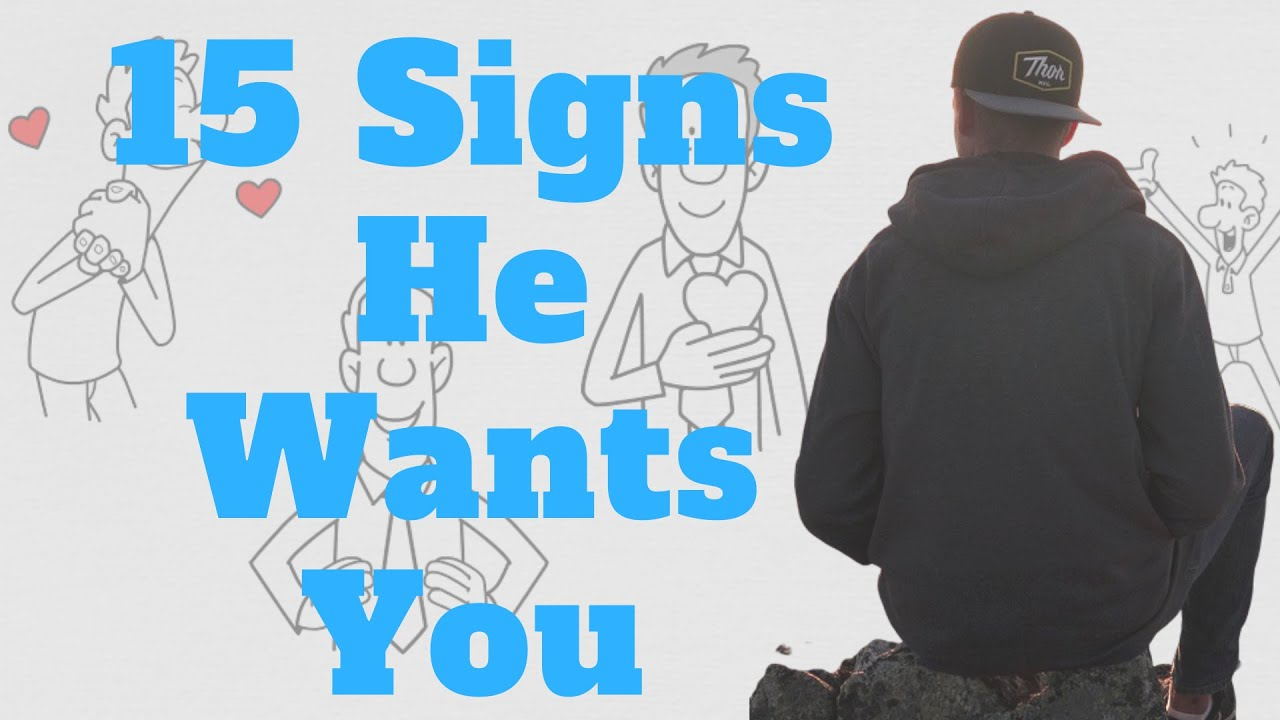 flirting signs he likes you video full