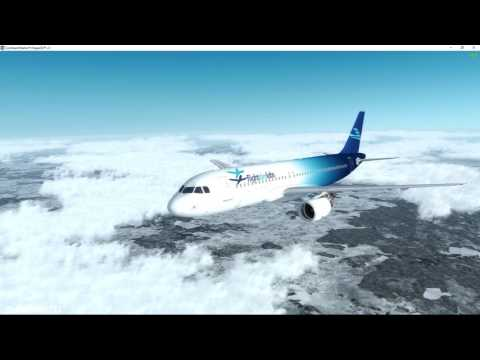 [P3D] FSLabs A320-X from EDDM to EDDF (Beta Version! for Prepar3d)