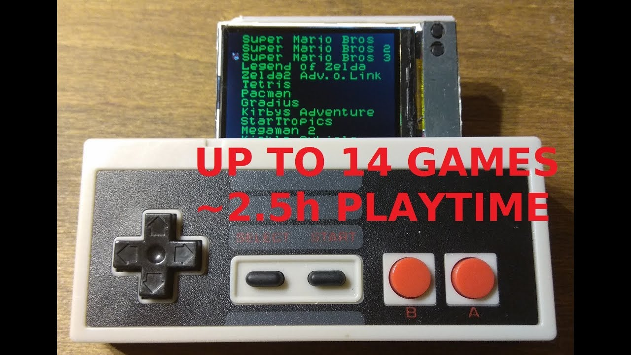 A Nintendo Entertainment System Emulator for the ESP32 « Adafruit