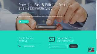Mobile Repair Service Responsive Moto CMS 3 Template TMT   Free Templ