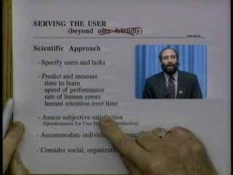 Serving the User (1994 University of Maryland UIS Broadcast)