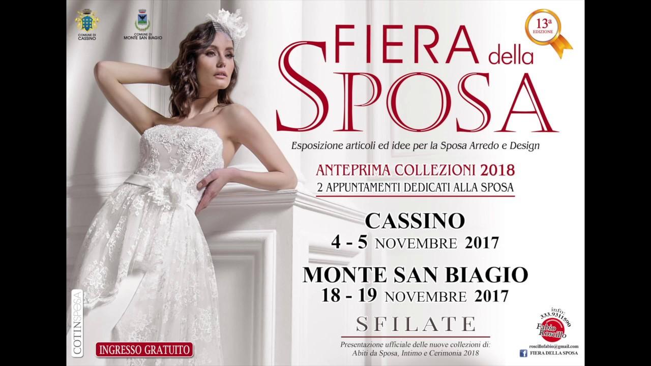 e494b2c2fc91 Spot VIDEO Fiera della sposa NOVEMBRE 2017 ANTEPRIMA Collezioni 2018 ...