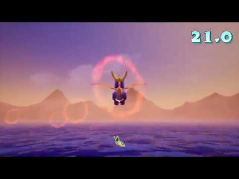 Spyo Reignited Trilogy [Ocean Speedway under 1:10] GUIDE