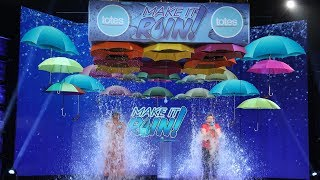 Fan Wins Big in a Double Dose of 'Make It Rain'