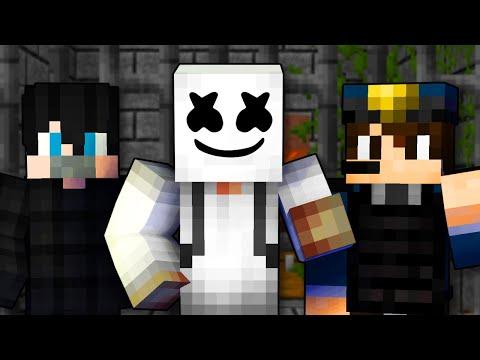Видео: TONGUE TIED - Майнкрафт Песня (Маршмеллоу На Русском) | Minecraft Marshmello Animation Song