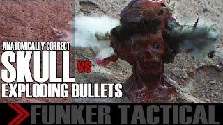 .44 Exploding Bullets Detonates Inside Skull | Slow Motion