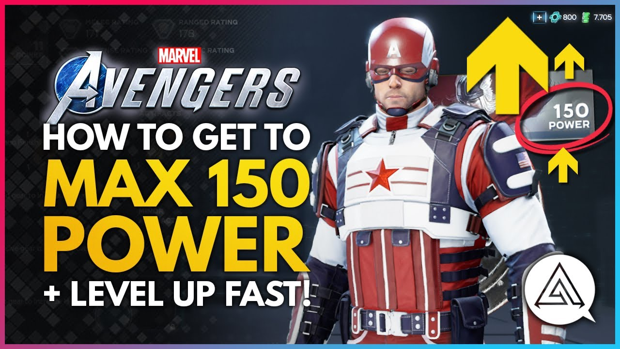 Marvel's Avengers | How to Get to Max 150 Power Level & Level Up Fast!