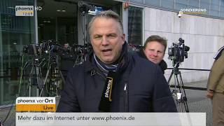 Gerd-Joachim von Fallois mit einem Statement von Peter Altmaier am 10.01.18