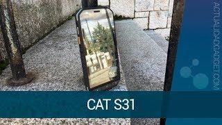CAT S31 - Analizamos el teléfono indestructible