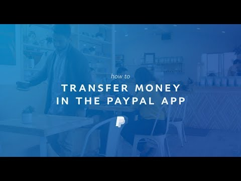 Can you send money to your bank from paypal