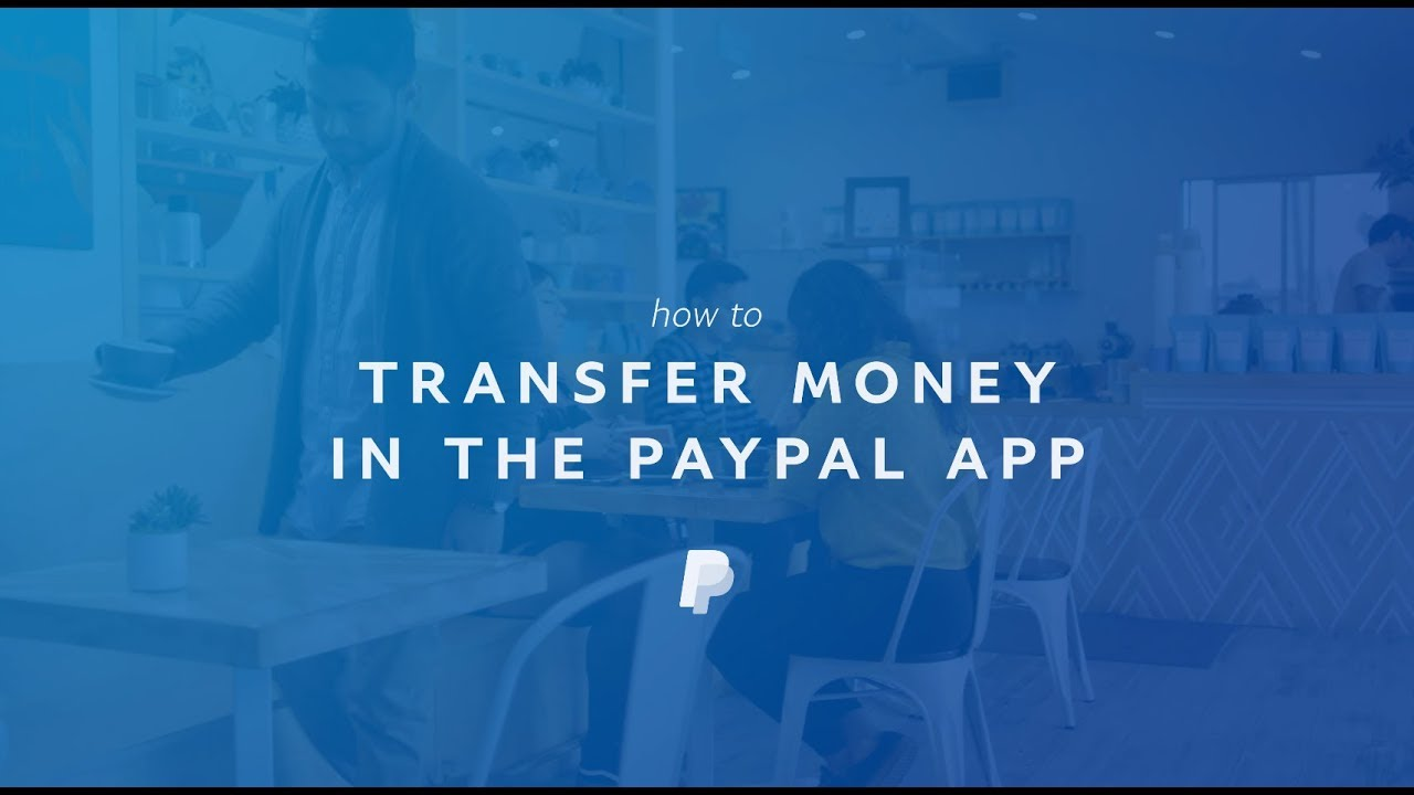 How to Transfer Money to Your Bank in the PayPal App - YouTube
