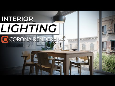 A Complete Guide On How To Do INTERIOR LIGHTING With CORONA RENDERER For 3DS MAX 2020   LIGHTMIXER