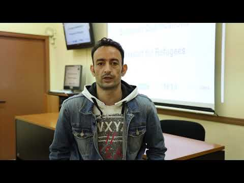 """Interview with Hatem Aowier, participant - Project """"European Qualifications Passport for Refugees"""""""