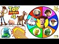 Toy Story 4 Spinning Wheel Game W Surprise Movie Toys New Toy Story Toys